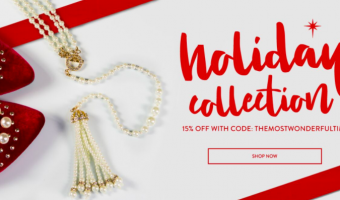 HOLIDAY GIFT GUIDE WITH FABULOUS JEWELRY: DON'T MISS CYBER MONDAY!