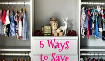 5 WAYS TO SAVE MONEY ON BABY CLOTHES