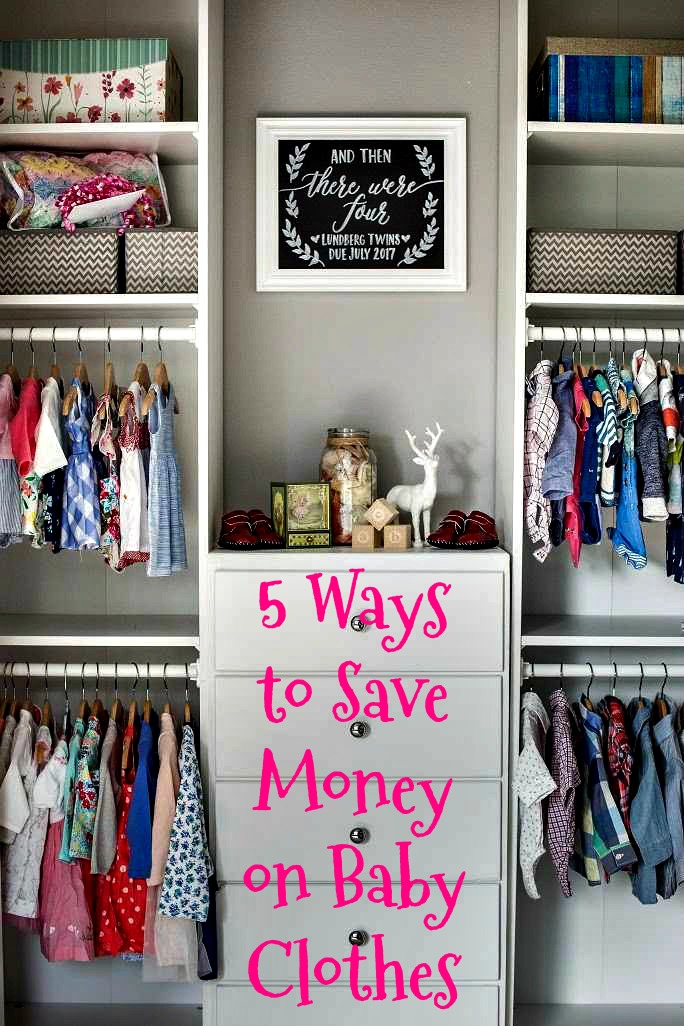 e99993f3948d 5 WAYS TO SAVE MONEY ON BABY CLOTHES