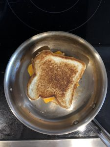 cooking spray grilled cheese