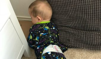 LAWSON'S FIRST CRAWL CAUGHT ON VIDEO!
