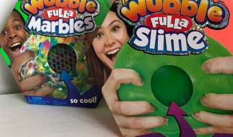 WUBBLE FULLA!  BUBBLE BALLS FULL OF SLIME/MARBLES!
