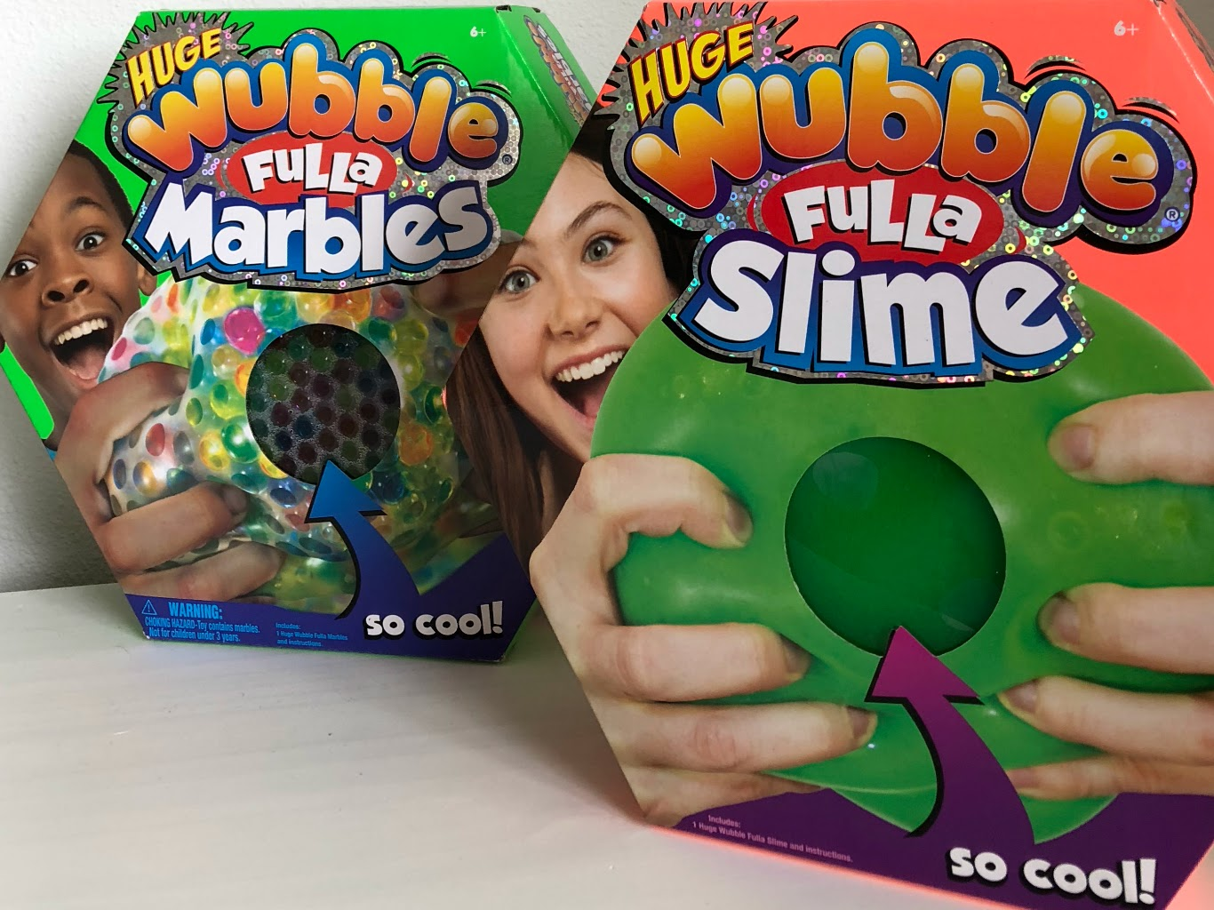 Wubble Fulla Marbles andSlime