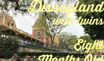 DISNEYLAND WITH THE TWINS AT EIGHT MONTHS OLD