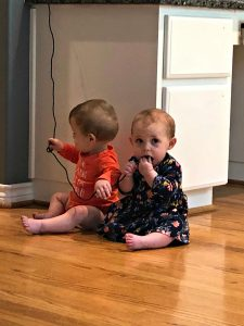 babies pulling cords