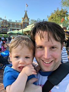 Father son Disneyland
